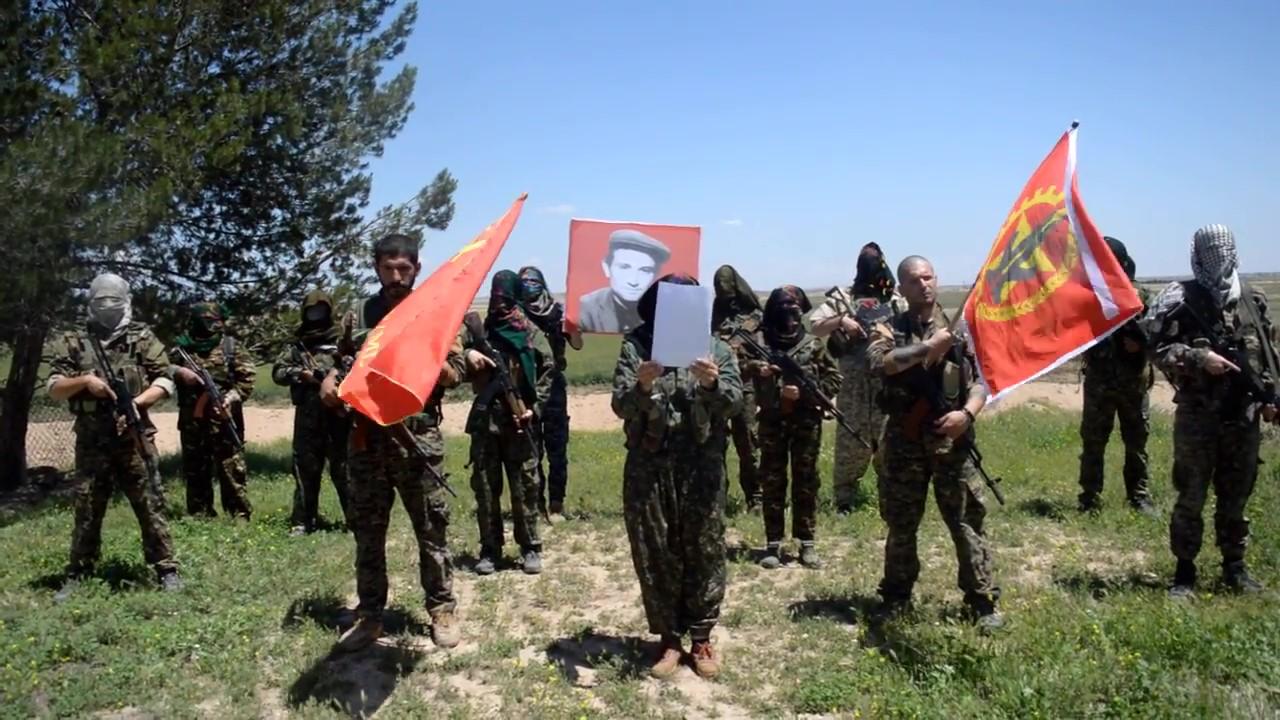 Dersim'den Rojava'ya Devrim Yürüyüşümüz Sürüyor TK Bunu fazla olduğu için yğkleyemiyoruz_Moment