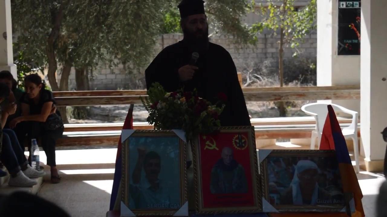 TİKKO Komutanı Nubar Ozanyan için Kilisede anma töreni_Moment