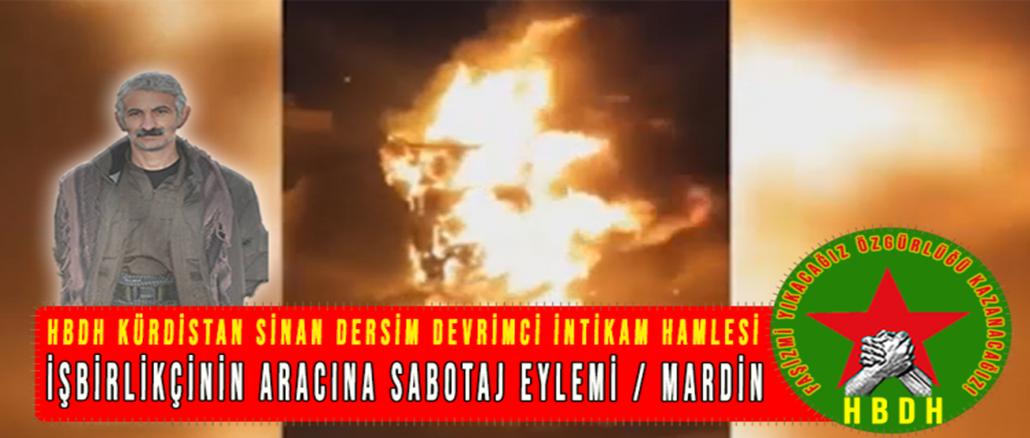 HBDH-KURDISTAN-ISBIRLIKCININ-ARACINA-SABOTAJ-EYLEMI-MARDIN